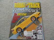 2000 Ford Taurus SE / 1997 Porsche Boxster / 2000 Volvo S80 Road Track Magazine