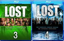 Lost: The Complete 3rd & 4th Seasons (Blu-ray Disc, 2008)