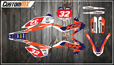 KTM SX85 Full Graphics Kit avec Custom chiffres etc-contour Series SX 85
