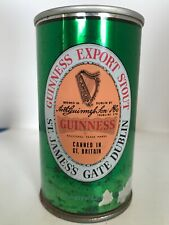 Guinness Export Stout Straight Steel Beer Can - Bottom Opened
