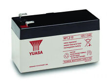YUASA NP1.2-12, 12v 1.2Ah Battery for MOST RESPONSE ALARM Systems