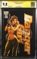 DANGER GIRL TRINITY #1 CGC SS 9.8 J SCOTT CAMPBELL VARIANT ABBEY CHASE IDW COMIC