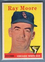 1958 Topps #249 Ray Moore EX-MT     G0364