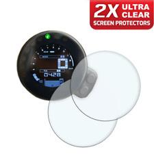 2 x YAMAHA XSR / XSR700 / XSR900 2016> Protector de pantalla: Ultra-Transparente