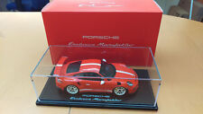 PORSCHE 911 (991) GT3 RS ÉDITION PROMO IAA 2015 LAVA ORANGE 1:18 WAX02100012