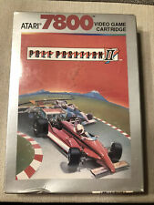 Pole Position II (Atari 7800, 1986) New In Shrink Wrap NOS