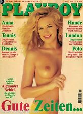 Playboy 7,07/1997 Juli,Julie Naumann,ALEXANDRA NELDEL,Anna Nicole Smith, GUT!