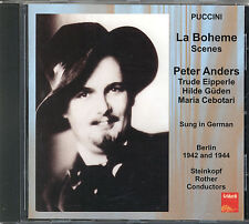 Puccini: La Boheme   -   Auszüge -  Anders Eipperle  Cebotari Güden