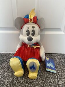 DISNEY STORE MINNIE MAIN ATTRACTION DUMBO AUGUST PLUSH 8/12 NEW WITH TAG