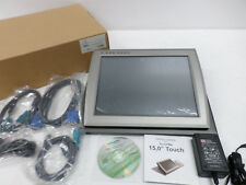 """Tipro TMC-XMCV-C13C5-003 15"""" POS Touch Monitor w/Cables, ELO Drivers,  26905"""