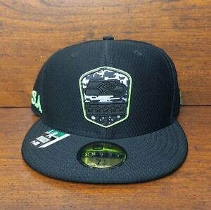 New Seattle Seahawks New Era 59Fifty Salute To Service NFL Fitted Hat 7 1/2 Cap