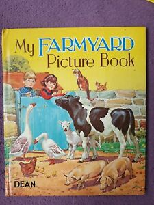 50th Birthday gift Farmyard Picture Book Dean 1970  Judy Lowe  J. B. Long Xmas