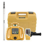 Topcon RL-H5B Construction Rotary Laser Level with LS-80L Receiver