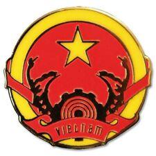 Vietnam national crest enamel pin badge
