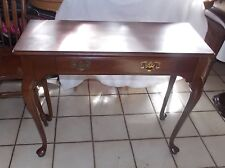 Solid Cherry Entry Table / Sofa Table  (RP-T763)