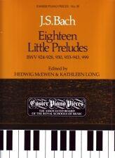 BACH PRELUDES (18 little ) EPP18 Piano