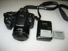 Canon PowerShot SX50 HS 12.1MP Digital Camera - Black - Very Good