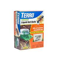 Terro Outdoor Liquid Ant Bug Control Killer Poison Bait Stations Traps 6-Pack