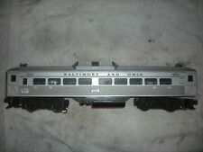 Lionel Baltimore & Ohio 400 Budd rail diesel car - postwar