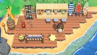 ANIMAL CROSSING New Horizons ACNH Beach Surf Cocktail Bar Cafe, Luxury 25 Pcs
