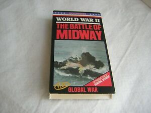 """Good Times VHS """"The Battle of Midway/Global War"""" 1942/1943 (C 1986)"""