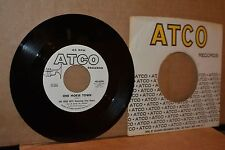 THE HIGH KEYS: ONE HORSE TOWN & DON'T LEAVE ME NOW; ATCO 6290 MINT- WL PROMO 45
