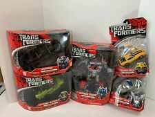 Hasbro Transformers Movie Voyager Lot Of 5 Optimus Prime Ratchet Ironhide Bumble