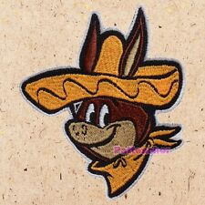 Baba Looey Face Patch The Quick Draw McGraw Show Sheriff Yogi's Gang Embroidered