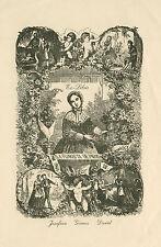 Ex libris Exlibris by de A. ALLADO/ France