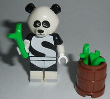 (N) SUPER HERO Lego Panda Man w/acc's Genuine Lego Parts