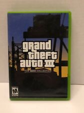 Grand Theft Auto III, GTA 3 (Microsoft Xbox, 2003)