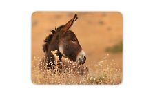 Cute Brown Donkey Mouse Mat Pad - Horse Horses Farm Animal Gift Computer #8651