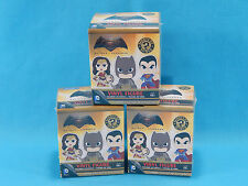 3x Funko Batman v Superman Mystery Minis Vinyl Figure Blind Boxes New Sealed
