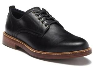 New in Box - $295 COLE HAAN Tyler Grand Black Leather Derby Oxfords Size 11.5