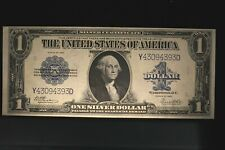 "1923 $1 Large Silver certificate FR 238 CHOICE UNCIRCULATED "" BEAUTIFUL NOTE'"