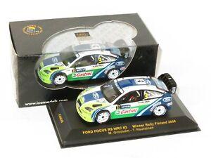 1/43 Ford Focus RS `06 WRC Castrol Winner Neste Rally Finland 2006 #3 M.Gronholm