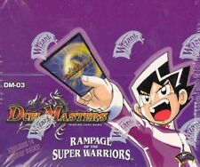 Duel Masters TCG - Rampage of the Super Warriors DM-03 Cards - You Choose