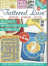 TATTERED LACE MAGAZINE With Free ZODIAC WORDS Dies (worth $16.99) + 16 papers