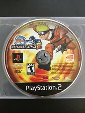 Naruto: Ultimate Ninja 2 (Sony PlayStation 2, PS2) Disc Only