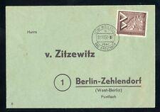 BERLIN Nr.160 EF DRUCKSACHE WÖLLSTEIN ÜBER BAD KREUZNACH !!! (135636)