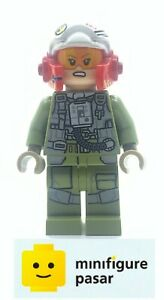 sw884 Lego Star Wars 75196 - Resistance Pilot A-wing Minifigure - Used
