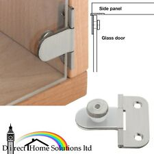 Hafele Brass 180° Glass Door Hinge For 6mm Glass Thickness, Inset Fix Unsprung