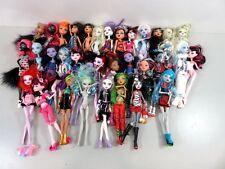 7+ Lb Bulk Lot of Loose, Assorted, Mattel Monster High Dolls - LOT