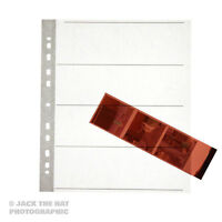 25 x Negative Filing Sheets for 120 Film. Acid Free, Archival Storage Pages