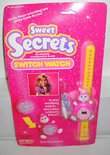 #7819 NRFC Vintage Galoob Sweet Secrets Switch Watch - Silly Seconds Pup