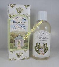 L'ERBOLARIO Bagnoschiuma doccia profumo MUGHETTO 250ml bath foam lily of valley
