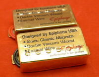 Original Epiphone 57CH Classic PAF Humbucker Pickups Fit Gibson Les Paul SG New
