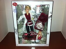 NEW! 2008 DISNEY HANNAH MONTANA KEEPSAKE HOLIDAY POP STAR DOLL SINGS