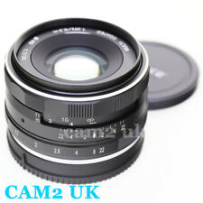 Meike 35mm f/1.7 Manual APS-C Lens for Canon EF-M mount mirrorless EOS M6 M10 M5