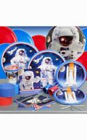 SPACE MISSION ASTRONAUT BOYS BIRTHDAY PARTY PACK SUPPLIES DECORATIONS BALLOONS